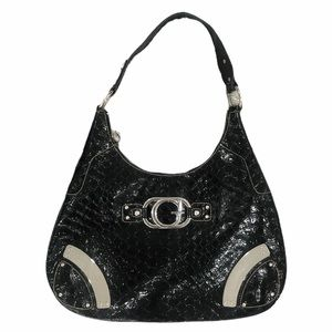 Guess Patent Leather Hobo Bag